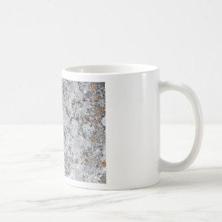 Marble mold texture classic white coffee mug