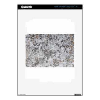 Marble mold texture decal for iPad 3