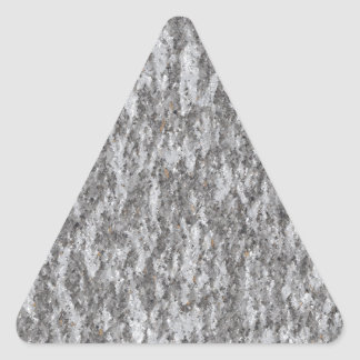Marble mold texture pattern triangle sticker