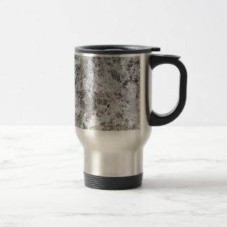Marble mold texture travel mug