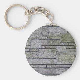 Marble mosaic wall keychain