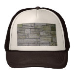 Marble mosaic wall trucker hat