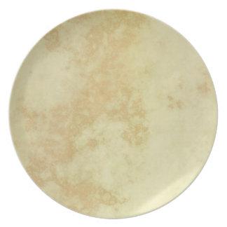 Marble or Granite Textured Melamine Plate