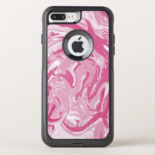 Marble  OtterBox commuter iPhone 8 plus/7 plus case