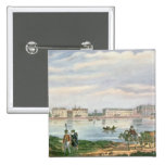 Marble Palace and Neva Embankment St. Pinback Button