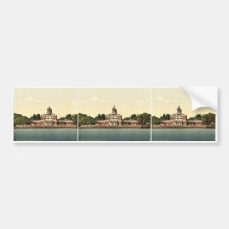 Marble Palace, Potsdam, Berlin, Germany magnificen Car Bumper Sticker