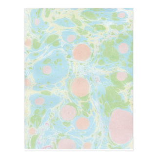 Marble Paper Designs by Philippine Marbled paper Postcard