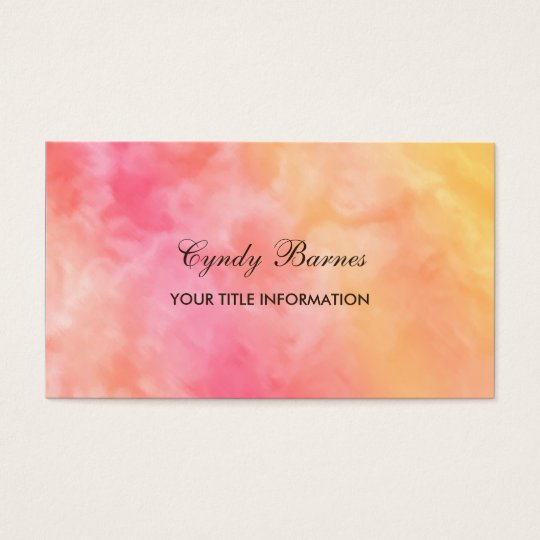 Marble Pattern Business Card