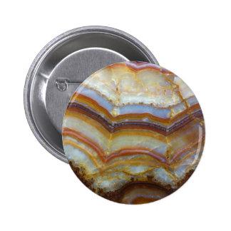 Marble pattern 2 inch round button