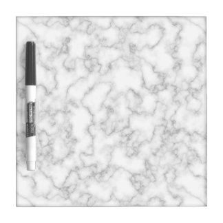 Marble Pattern Gray White Marbled Stone Background Dry-Erase Board