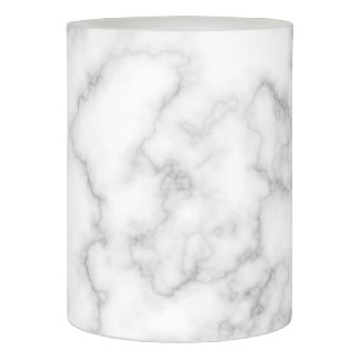 Marble Pattern Gray White Marbled Stone Background Flameless Candle