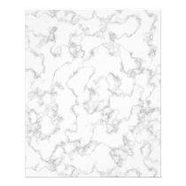 Marble Pattern Gray White Marbled Stone Background Flyer