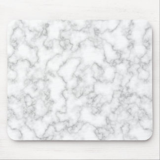 Marble Pattern Gray White Marbled Stone Background Mouse Pad