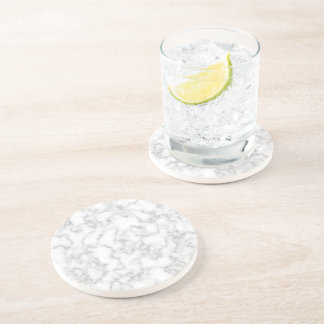 Marble Pattern Gray White Marbled Stone Background Sandstone Coaster