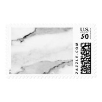 Marble Pattern Postage Stamp