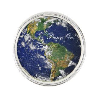 Marble_Peace azul en la tierra Insignia