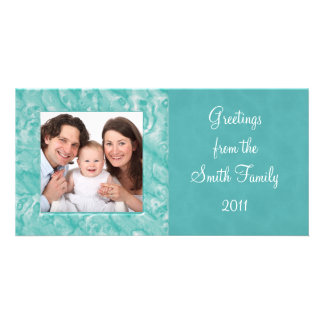 Marble Personalized Photo Card