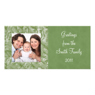 Marble Customized Photo Card