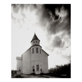 Marble Plains Church Franklin County Tennessee Poster