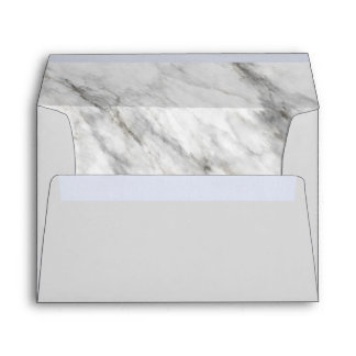 Marble Pre-Addressed Envelope