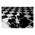 Marble reflection posters