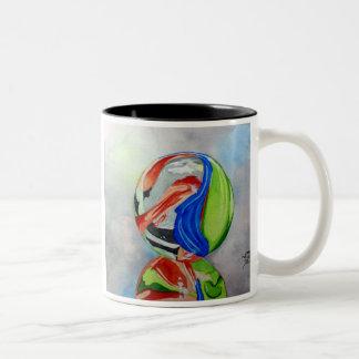 Marble reflection Two-Tone coffee mug