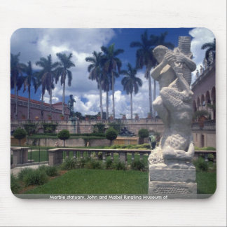 Marble statuary, John and Mabel Ringling Museum of Mouse Pad