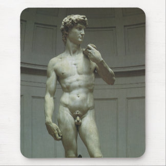 Marble Statue of David by Michelangelo Mouse Pad