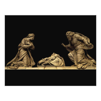 """Marble Statue of the Nativity by Michel Anguier 8.5"""" X 11"""" Flyer"""