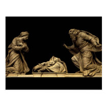 Marble Statue of the Nativity by Michel Anguier Postcard