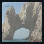 "Marble Stone Coaster<br><div class=""desc"">El Arco in Cabo will make a cool coaster for you and your guests.</div>"