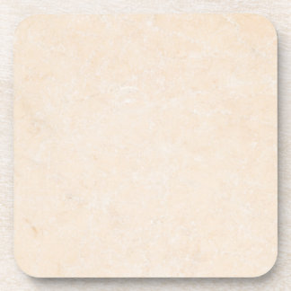 Marble Stone Cream Neutral Tile Background Blank Drink Coaster