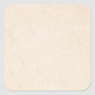 Marble Stone Cream Neutral Tile Background Blank Square Sticker