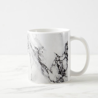 Marble Stone In Gray White And Black Colors Coffee Mug