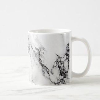 Marble Stone In Gray White And Black Colors