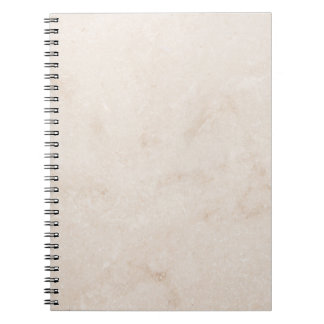Marble Stone Neutral Tile Sandy Background Blank Notebook