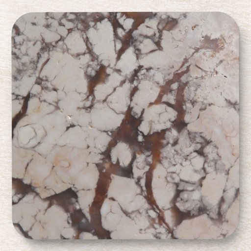 Marble stone pattern drink coaster zazzle - Stone coasters for drinks ...