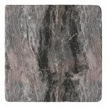 Marble Stone Texture In Gray Tones Trivet