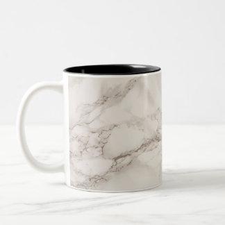 Marble Stone Two-Tone Coffee Mug