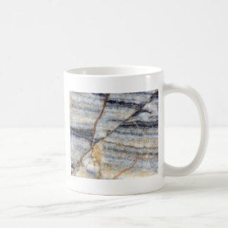 Marble surface with fractures. coffee mug