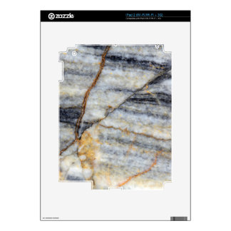 Marble surface with fractures. iPad 2 decal
