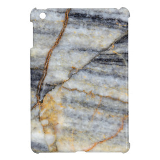 Marble surface with fractures. iPad mini case