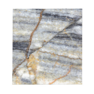 Marble surface with fractures. memo notepad