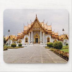 Marble Temple of Gold over Khmer Lion Mousepad at Zazzle