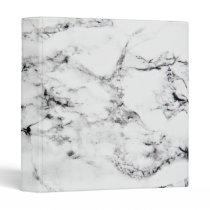 Marble texture 3 ring binder