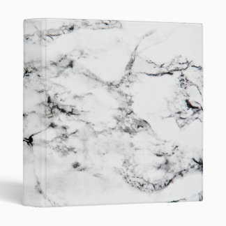 Marble texture 3 ring binder