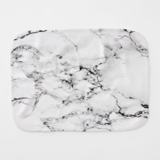 Marble texture baby burp cloth