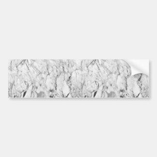 Marble Texture Bumper Sticker