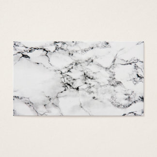 Marble texture business card