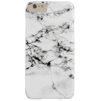 Marble texture barely there iPhone 6 plus case